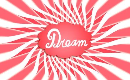 spiralized: Sweet warm dream. Stock Photo