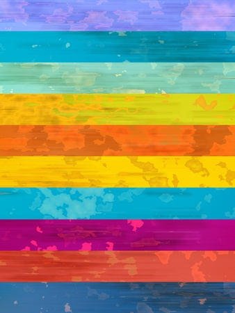 バナーには、虹のような背景とカラフルな背景はそっと地球マップのような観光スポットと汚れ