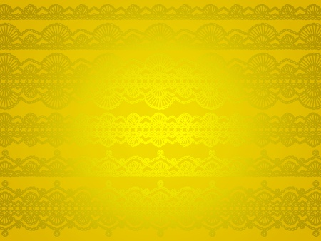 Yellow and gold luminous bright silky wallpaper background photo