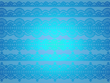 Brilliant glitter turquoise blue soft elegant wallpaper crochet patterns background Stock Photo - 12427105