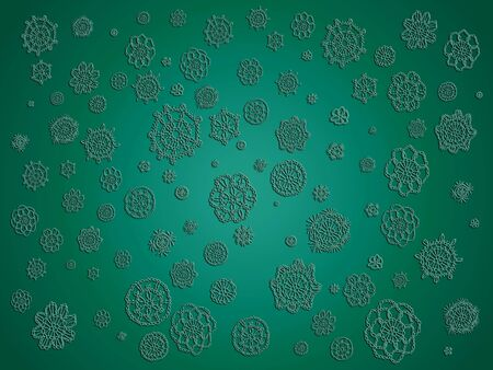 Green delicated elegant background as a fabric for wallpaper or backgrounds for design photo