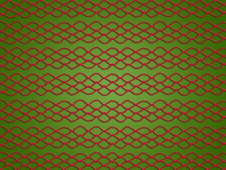 Crochet patterns as backgrounds for Christmas in red and green photo
