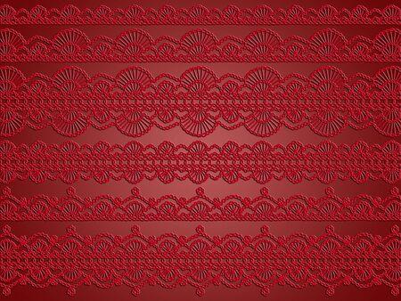 hilo rojo: Elegancia en el rom�ntico sofisticado fondo rojo de Navidad