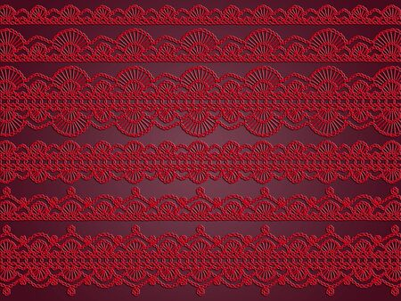 Red and dark purple elegance in romantic vintage wallpaper photo