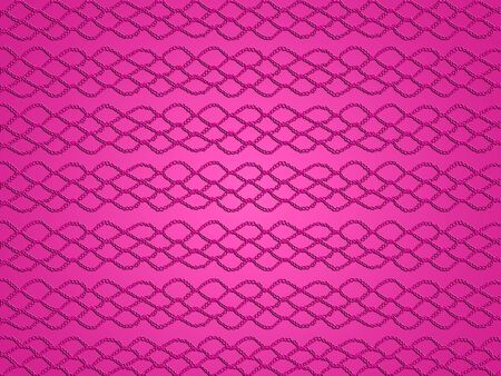Femenine pink background with crochet grating texture in red fabric photo
