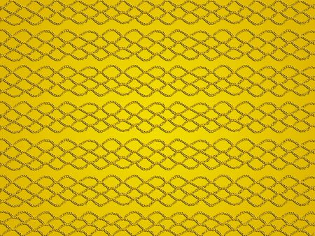 oldish: Yellow background with oldish simple crochet web