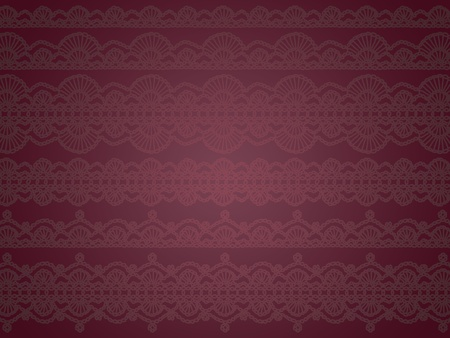 Dark Purple Elegant Background Or Wallpaper With Vintage Patterns Stock Photo