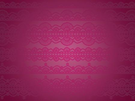 digitals: Elegant luxury wallpaper with crochet laces design in purple Stock Photo