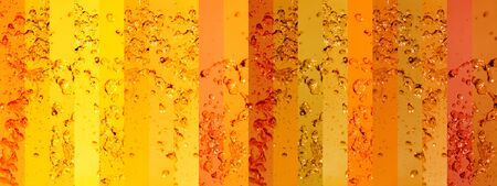 colortherapy: Orange, oranges, yellow, yellows, banner, banners, background, backgrounds, water, liquid, drops, drop, splash