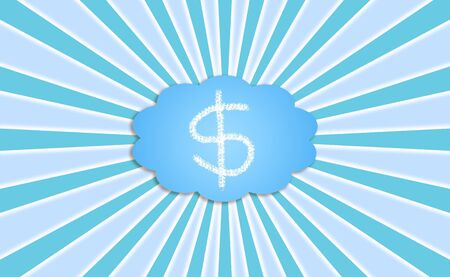 Money, concept, conceptual, cloud computing, clouds photo