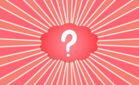 Question, les questions, en demandant, concept, conceptuel, nuage, rouge