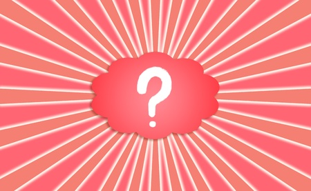 interrogating: Question, questions, asking, concept, conceptual, cloud, red