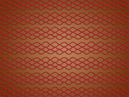 sofisticated: Red, brown, warm, crochet, web, laces, background Stock Photo