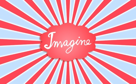 rotations: Imagine  dreaming Stock Photo