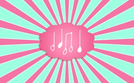 Musics  notes backgrounds Stock Photo - 12808148