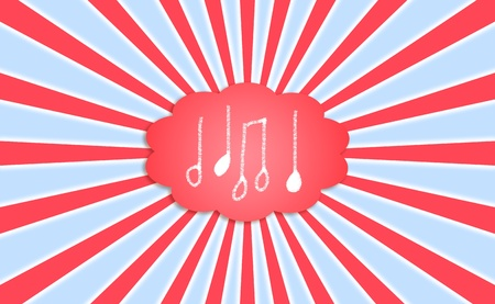 hypnotize: Music  notes backgrounds  Stock Photo