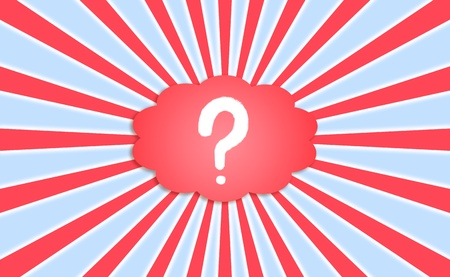 Business questions  cloud Banque d'images