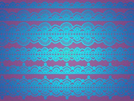 Luminous blue elegant background over pink photo
