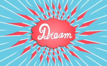Dreaming, dreams, backgrounds, cloud, red, blue photo