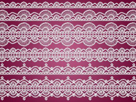 White transparent femenine fabrics over dark sober red background photo