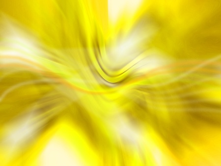 luminous: Gold, yellow, abstract, flowing, luminous, blurred Stock Photo