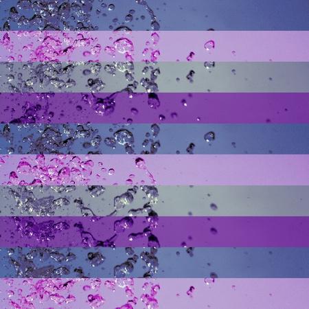 Violet, purple, pattern, line, striped, square, splash Stock Photo