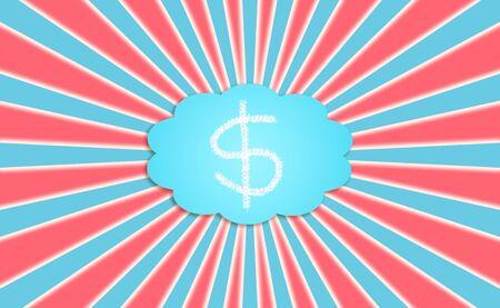 energize: Money, economy, economic, cloud, energize, background