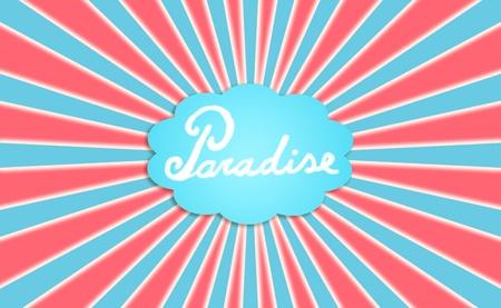 Paradise dreams, concept, concepts, background photo