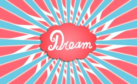 Dream, tricholor, cloud, dreams, backgrounds, fly Stock Photo - 12832716