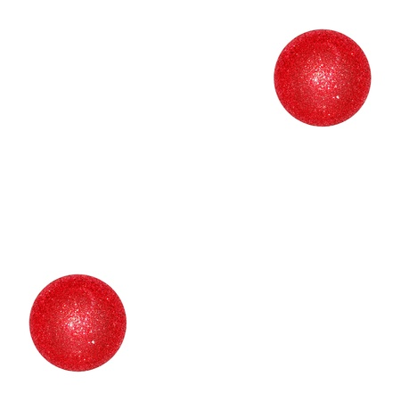 Two, couple, pair, dice, dices, number, ball, balls, xmas, red photo
