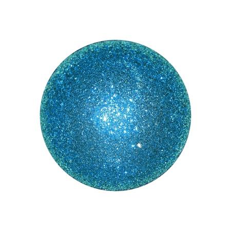 cian: Cian, blue, ball, brilliant, brilliantine, isolated Stock Photo