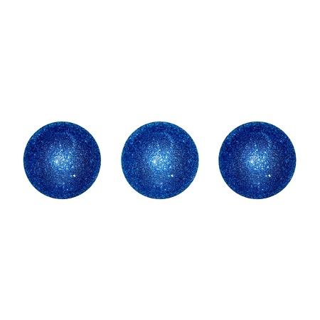 competences: Dark blue balls, three isolated dots