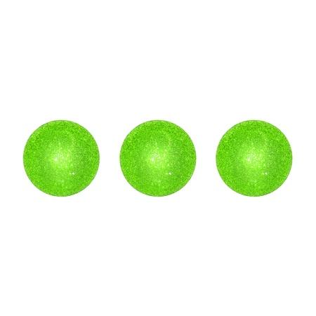 Three, light green, balls, dots, brilliant, brilliantine, game photo