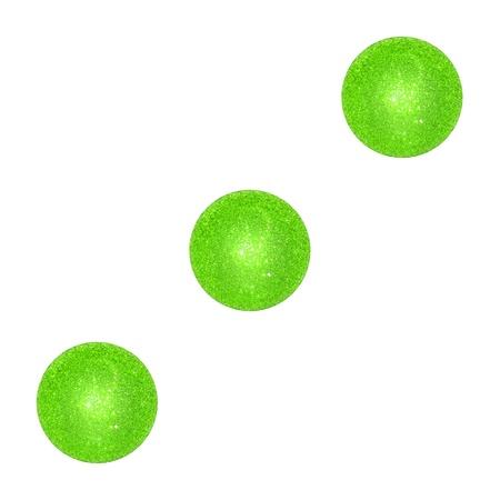 Three, dice, light green, balls, Christmas, xmas photo