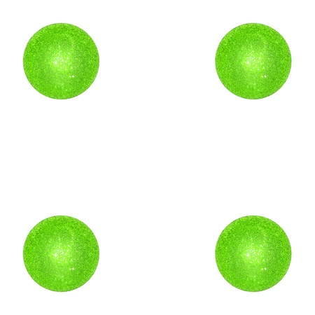 Balls, balloons, light green, xmas, dots photo