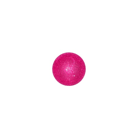 centered: One pink balloon centered in a square like one in a dice Stock Photo
