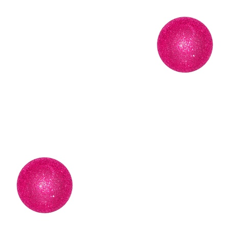 Two, pair, couple, pink, dice, dices, balls, xmas, partners photo
