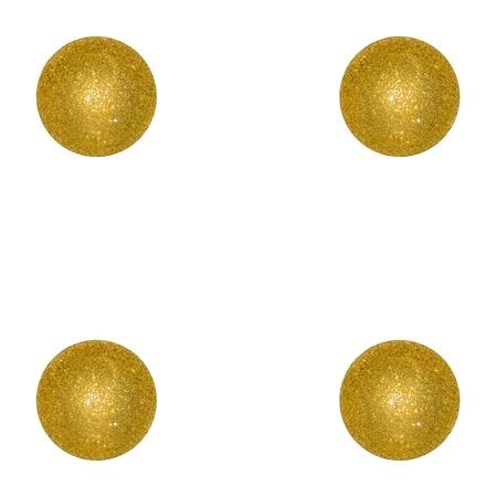 competences: Four, gold, golden, balls, balloons, xmas, dice