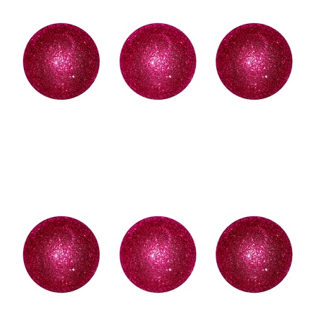 Six, winning, winner, points, balls, red, xmas Stock Photo