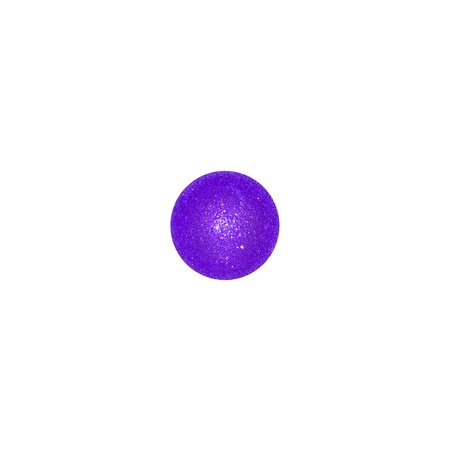 purpleish: One indigo purple xmas balloon isolated over white
