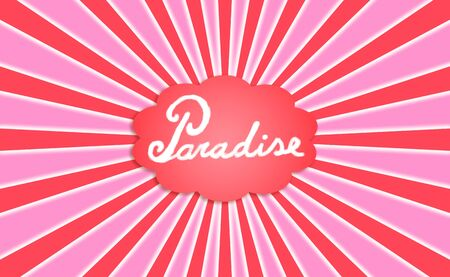Paradise, concept, word, words, warm, warmth, cloud, dream Stock Photo - 12998472