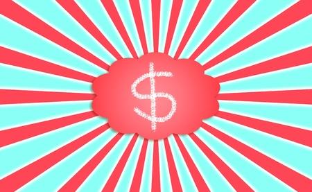 simetric: Money, economy, cloud, dreams, energy, energies Stock Photo