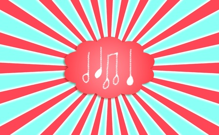Composition, note, notes, cloud, dream, sound, background photo