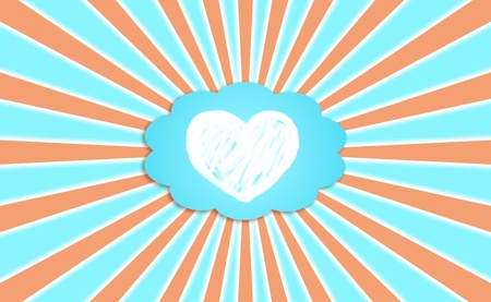 Love, cloud, energy, backdrop, heart photo