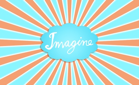 Imagine, creativity, cloud, dream, dreaming