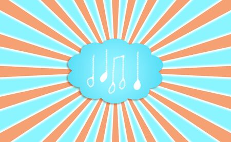 Music, sound, sounds, note, notes, cloud, dream photo