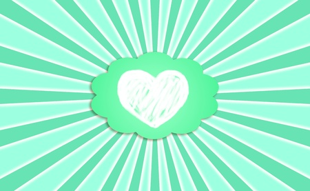 Heart, green, fresh, eco, ecology, ecologic, background, concept Stock Photo - 13065129