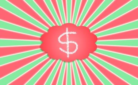 Money, xmas, dollars, abundance, prosperity, energetic, energy, power, powerful photo