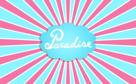 Paradise, cloud, concept, imagine, dreaming Stock Photo - 13114311