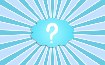 Faq, question, questions, answer, answers, backdrop, blue Stock Photo - 13114306